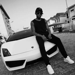 Runtown Shows Off His Lamborghini Gallardo, Writes To Haters (Photos)